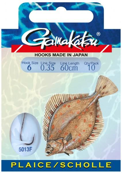 Gamakatsu Haken BKD-5013F Plattfisch 60 cm 10 Stk SB