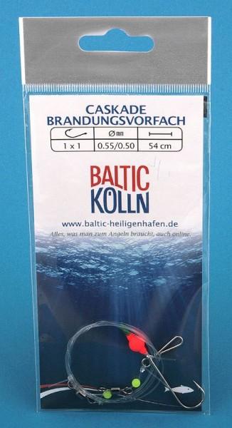 """Baltic Lift"""" Brandungsvorfach 1 Haken Auftriebsperle rot"""""""