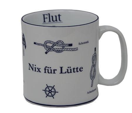 """Jumbobecher nix für Lütte"""" neu"""""""