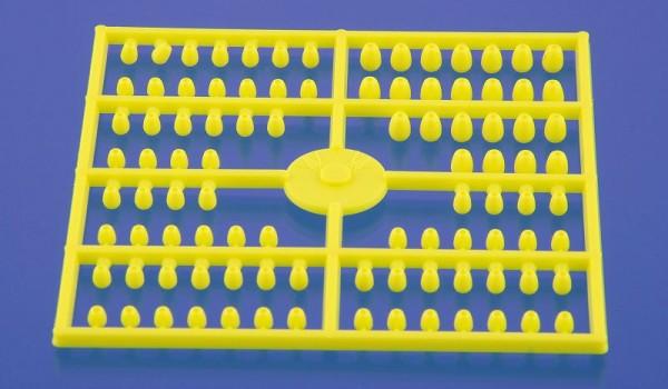 TDY Teardrop beads yellow BKH 96 Stk.