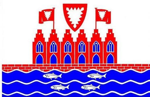 Stadt-Flagge Heiligenhafen