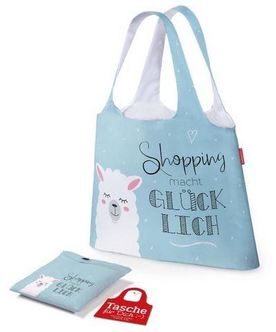 Tasche Shopping glücklich