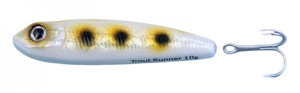 Westin Trout Runner Daimond Silver