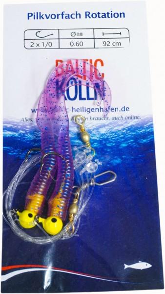 Baltic Pilkvorfach(Rotation)2 violette Twister