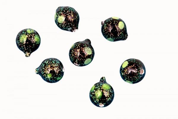 Lil' Corky® GBCS Glitter Black Chartreuse Spot 25 Stück verpackt