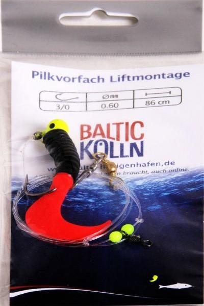 Baltic Pilkvorfach 1Beifänger rot/schwarz -Liftsystem-