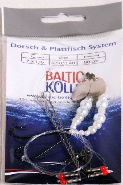 Baltic Buttvorfach 2 Haken perlmutt