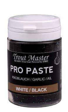 Trout Master Pro Paste Carlic White/Black