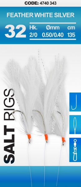 Feder Rig White/Silver