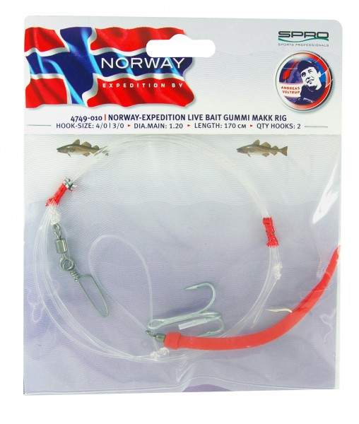 Norway Exp Live Bait Rig