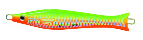 Pro-Select-Pilker Lumb-Fish grün/rot