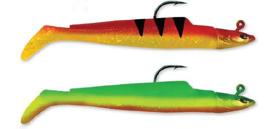 Conrad Sandeel 60gr.2er Pack red/yellow/green
