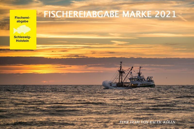 Fischereiabgabe Marke 2021