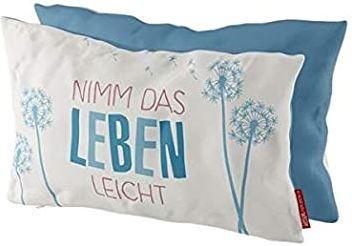 Kissen Nimm Leben leicht 25x40 cm