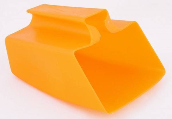 Schöpfkelle orange Kunststoff