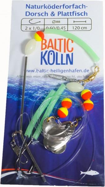 Baltic Naturköderschleppsystem leicht 2 Haken