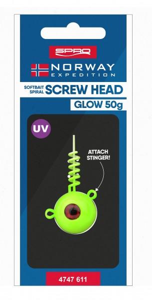 NE Screw In Head glow