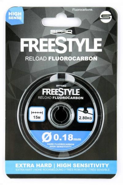 Freestyle Fluorocarbon 15m Spule
