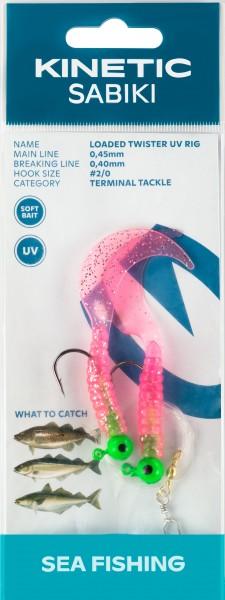 Twister Rig UV Pink/Glitter