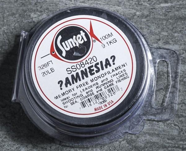 Amnesia Line black, Spule mit 100m Lauflänge