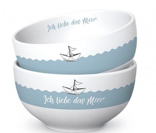 Schälchen Liebe Meer D13H7