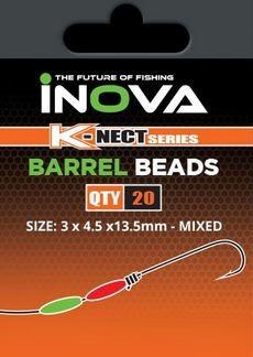 Barrel Bead Mixed Pack 13,5x4,5mm