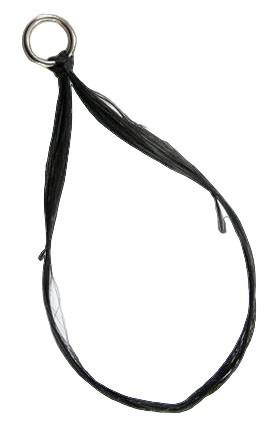 Hornhechtseide schwarz von Lawson Silktraed