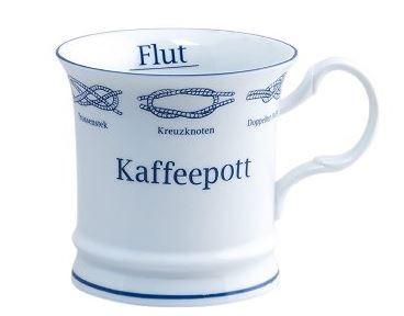Kapitänstasse ges. Knoten A Kaffepott