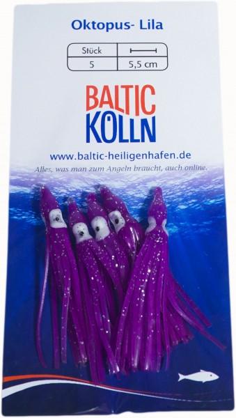 Baltic Octopus Ersatzkörper 4cm violett 5 Stck. SB
