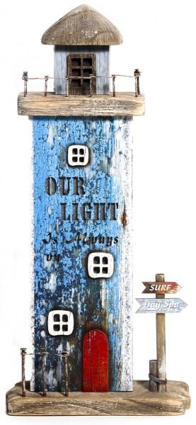 Holz-Lichthaus Shabby - Our Light