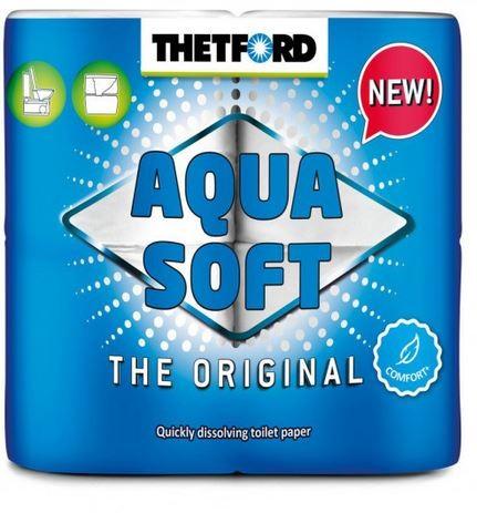 Aquasoft Toilettenpapier 4 Stück
