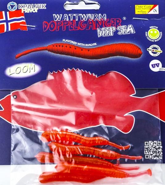 Doppelgänger Wattwurm rot
