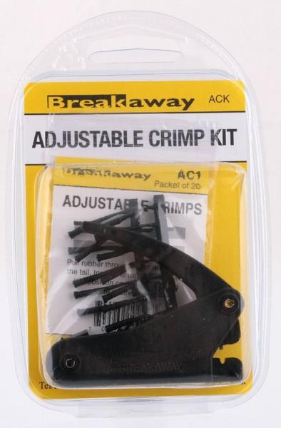 Breakaway ACK Crimp Tool Kit with 20 crimps & rubbers