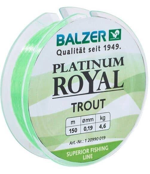 Platinum Royal Trout chartreuse 150m SB