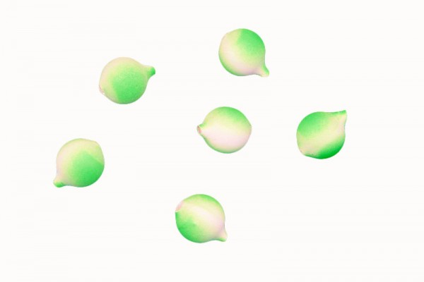 Lil' Corky® LUGR Luminous Green 25 Stück verpackt