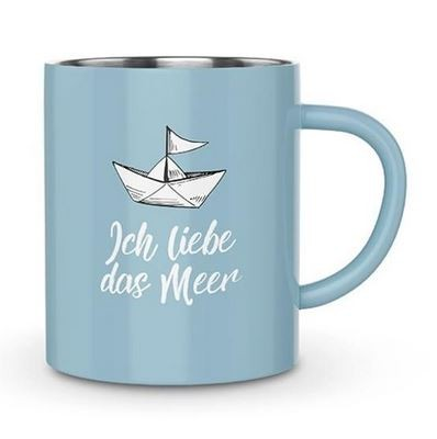 Thermobecher Liebe Meer 250 ml