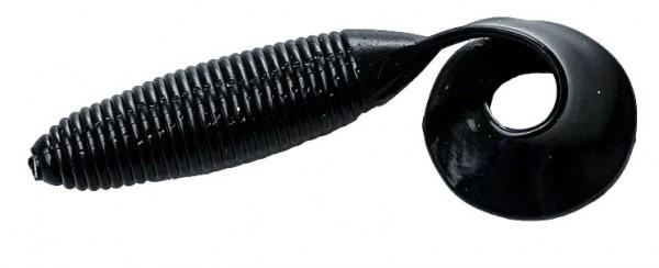 Action plastic Mag Grub, 5 inch/12,7cm Black 100 Stck.
