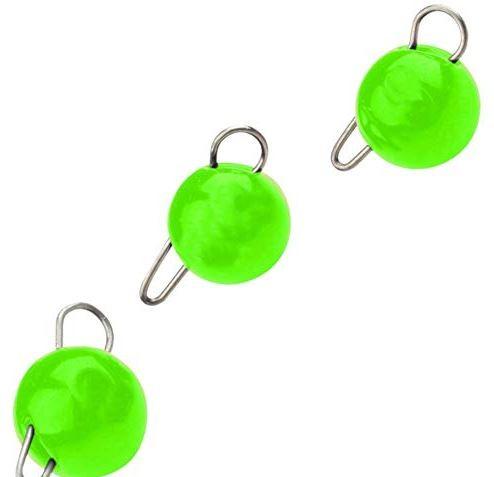 TM Tungsten Bottom Jigs UV Green