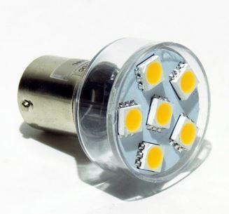 LED-Leuchtmittel 12V/24V BA15s 100 Lumen / 11 Watt