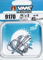 Meerforellenhaken VMC Salmon Siwash Einzelhaken 9170