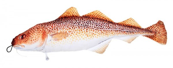 "Stoff-Fisch Dorsch"", Länge 62 cm"""