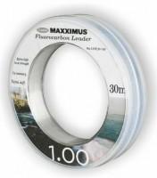 Maxximus fluocarbon 30m 120Lbs, Schnurstärke: 1,00mm