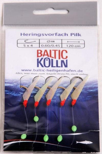 Baltic Herings-Pilkvorfach, Fischhaut 5 x Gr.4