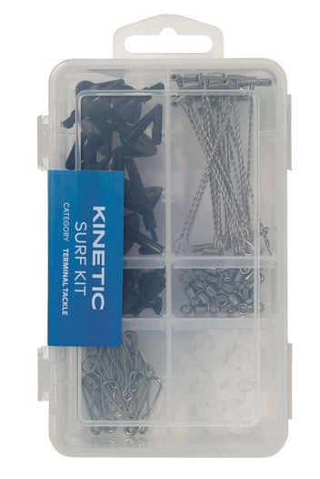 Kinetic Surf Kit Montagematerial für Vorfachbau 110tlg.