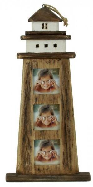 Bilderrahmen, Leuchtturm, altes Holz 26*3,5*54cm